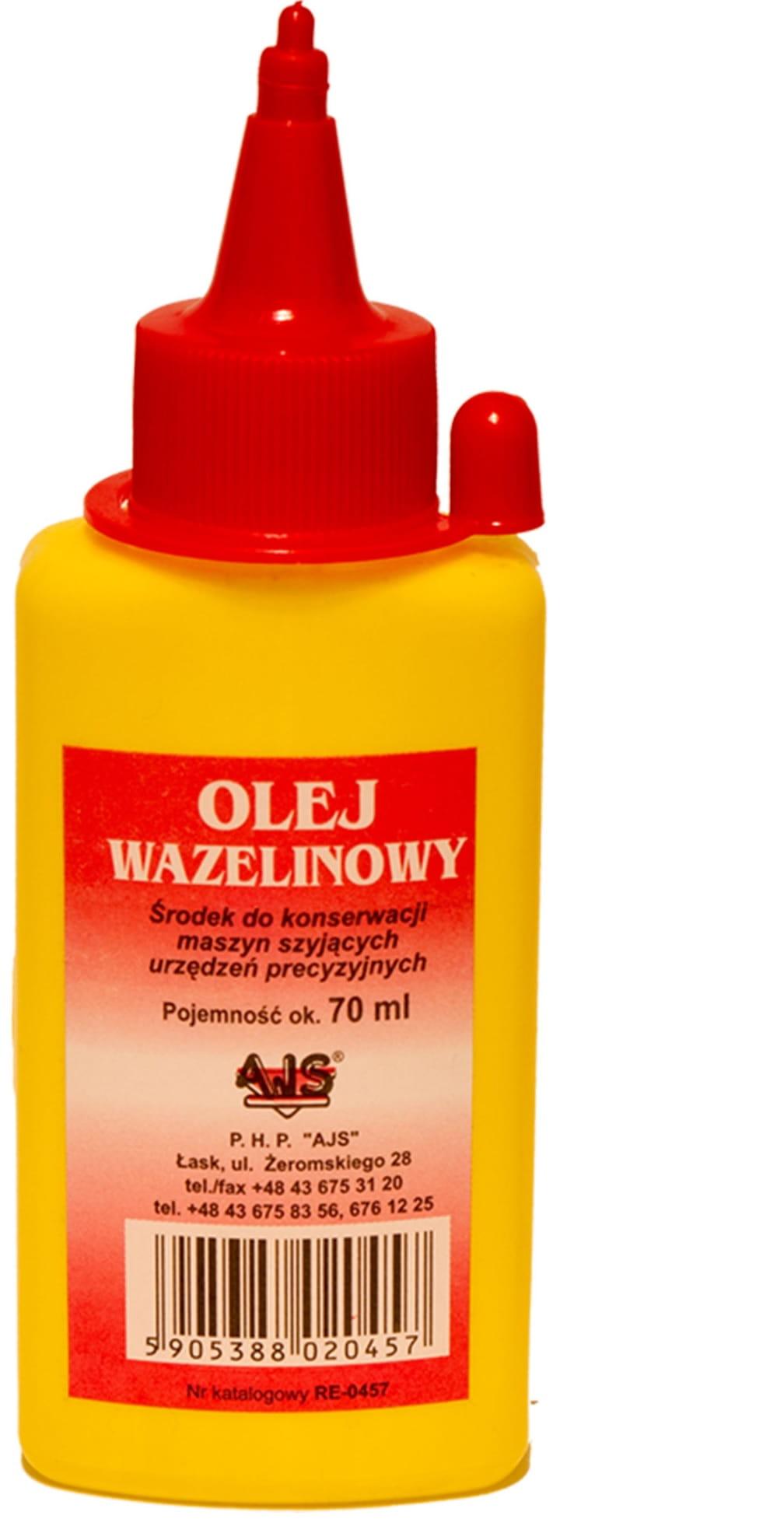 Inne rodzaje OLEJ WAZELINOWY MASZYNA DO SZYCIA ŁUCZNIK SINGER 0233 Hurtownia YQ41